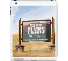 Wildhorse Plains Montana iPad Case/Skin