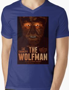 The Wolfman 1941 alternative movie poster Mens V-Neck T-Shirt
