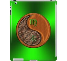 Virgo & Goat Yin Wood iPad Case/Skin