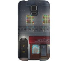 Sherlock Speedy's Cafe christmas Samsung Galaxy Case/Skin