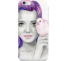 """Pink dove"" iPhone Case/Skin"