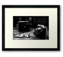 In the days of Black & White Framed Print
