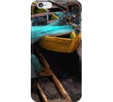 Fishing Boat Colors iPhone Case/Skin