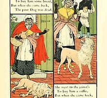 The Mother Hubbard Picture Book by Walter Crane - Plate 13 - Went to the Bakers, Joiners by wetdryvac
