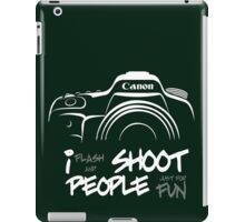 Shoot People for Fun Cartoonist Version (v2) - inverted iPad Case/Skin