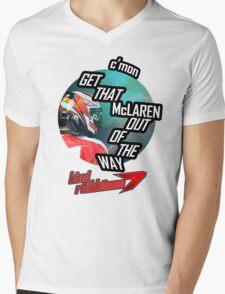 Hilarious Kimi Team Radio - Chinese GP 2015 Mens V-Neck T-Shirt