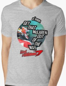 Hilarious Kimi Team Radio - Chinese GP 2015 Mens V-Neck T-Shirt