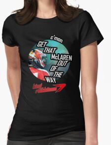 Hilarious Kimi Team Radio - Chinese GP 2015 Womens Fitted T-Shirt