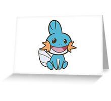 I heard you like Mudkips Greeting Card