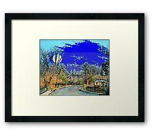 Appomattox Evening Framed Print