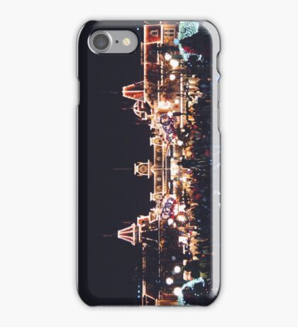 Christmas on Main Street iPhone Case/Skin