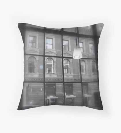 The World Outside the Window Throw Pillow