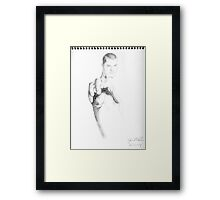 Reach 3 Framed Print