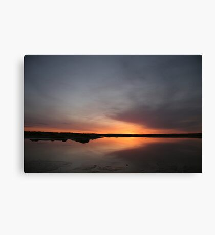 Moody Sunrise Canvas Print