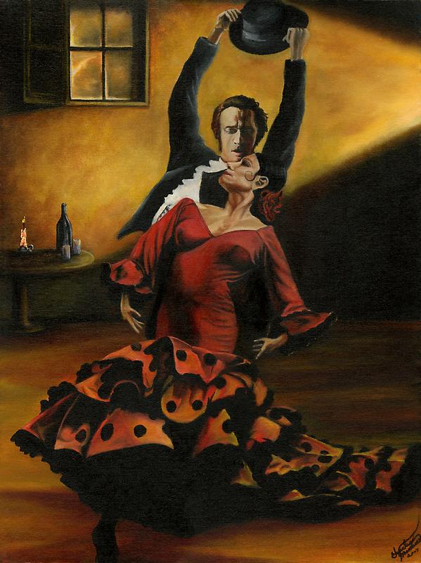 Flamenco Dancers by CaptiveArts