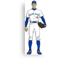 Blue Jays Guy Canvas Print