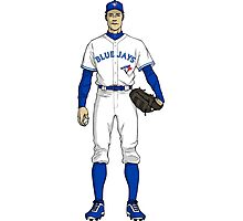 Blue Jays Guy Photographic Print