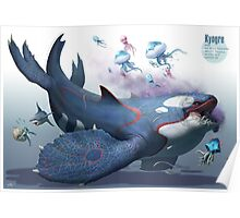 Kyogre Poster