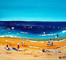 Beach Activity by Wendy Eriksson