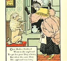 The Mother Hubbard Picture Book by Walter Crane - Plate 12 - Went to the Cupboard by wetdryvac