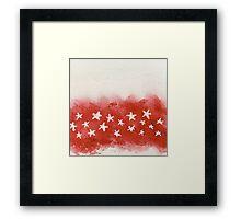 star light star bright Framed Print