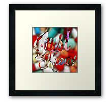 Just Know!  Framed Print
