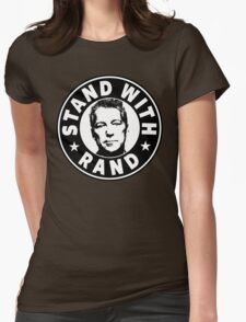 Stand With Rand Womens Fitted T-Shirt