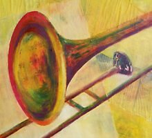 Trombone by Esther's Art and Photography