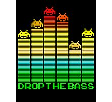 Space Invaders - Drop The Bass Photographic Print