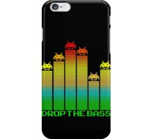 Space Invaders - Drop The Bass iPhone Case/Skin