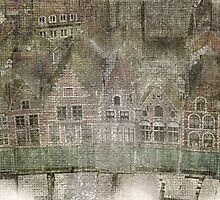Faded Memories-Bruges by Jeff Clark