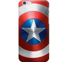 captain america - sheild iPhone Case/Skin