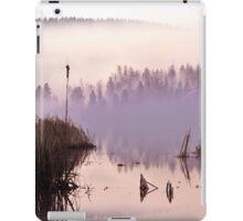 Misty Morning on the Lake iPad Case/Skin