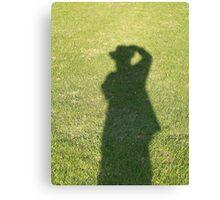 The Shadow That Follows Me Canvas Print
