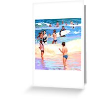 Beach Wave Greeting Card