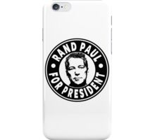 Rand Paul For President iPhone Case/Skin