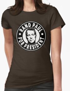 Rand Paul For President Womens Fitted T-Shirt
