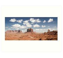Monument Valley Panorama Art Print