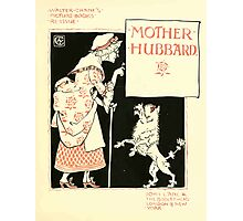 The Mother Hubbard Picture Book by Walter Crane - Plate 09 - Re-issue Picture Photographic Print