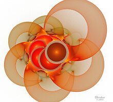 'Light Flame Abstract 135' by Scott Bricker
