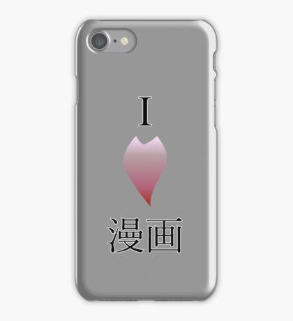 I love manga iPhone Case/Skin