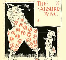 The Mother Hubbard Picture Book by Walter Crane - Plate 49 - The Absurd ABC by wetdryvac