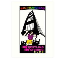 San Francisco WWC Golden Gate Bridge Madness Logo Art Print