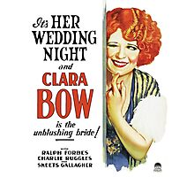 Clara Bow Film Photographic Print