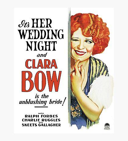 Clara Bow Film Photographic Print