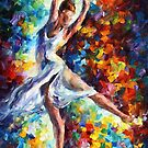 Candle Fire — Buy Now Link - www.etsy.com/listing/125598477 by Leonid  Afremov