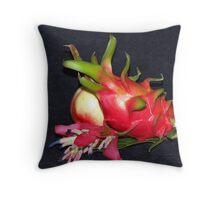 Dragonfruit study Throw Pillow