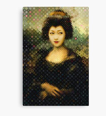 Mona Geisha Canvas Print