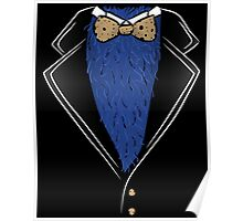 Cookie Formal tux shirt Poster