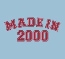 Made in 2000 One Piece - Short Sleeve